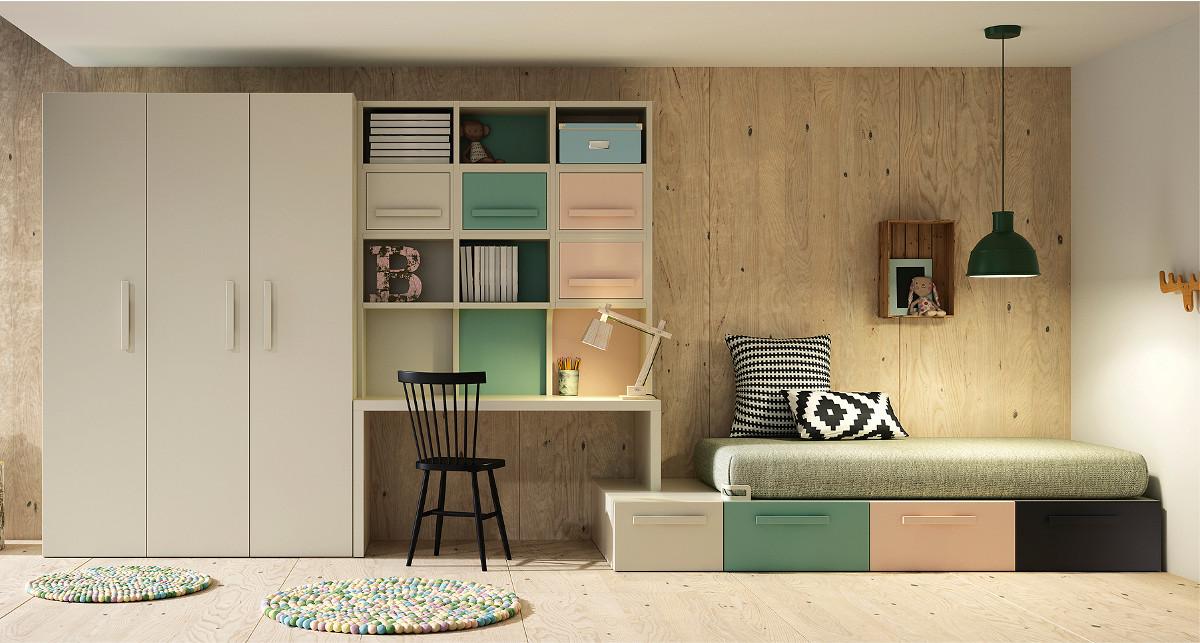 Camere complete teenagers camere per ragazzi for Camere da letto prezzi bassi