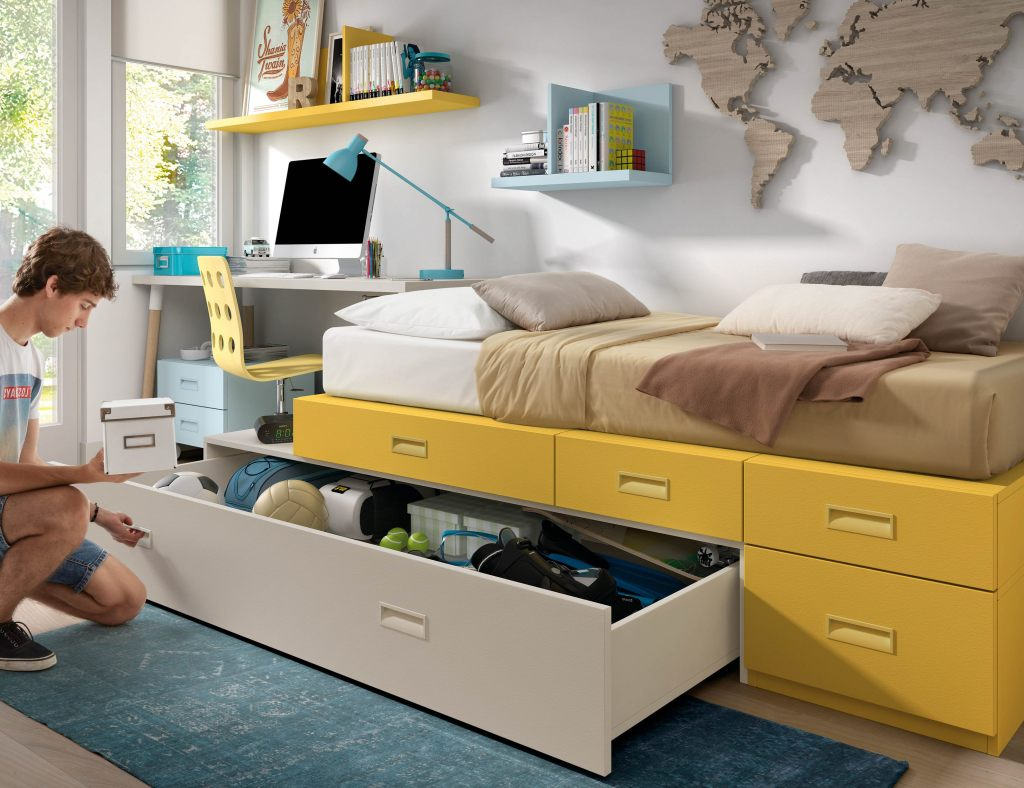 mobili per bambini divertenti set letto a castello per