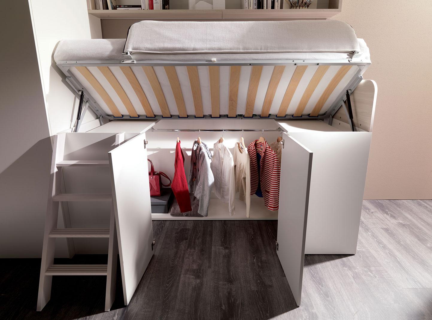 Soluzioni salvaspazio spaziojunior - Soluzioni salvaspazio camera da letto ...