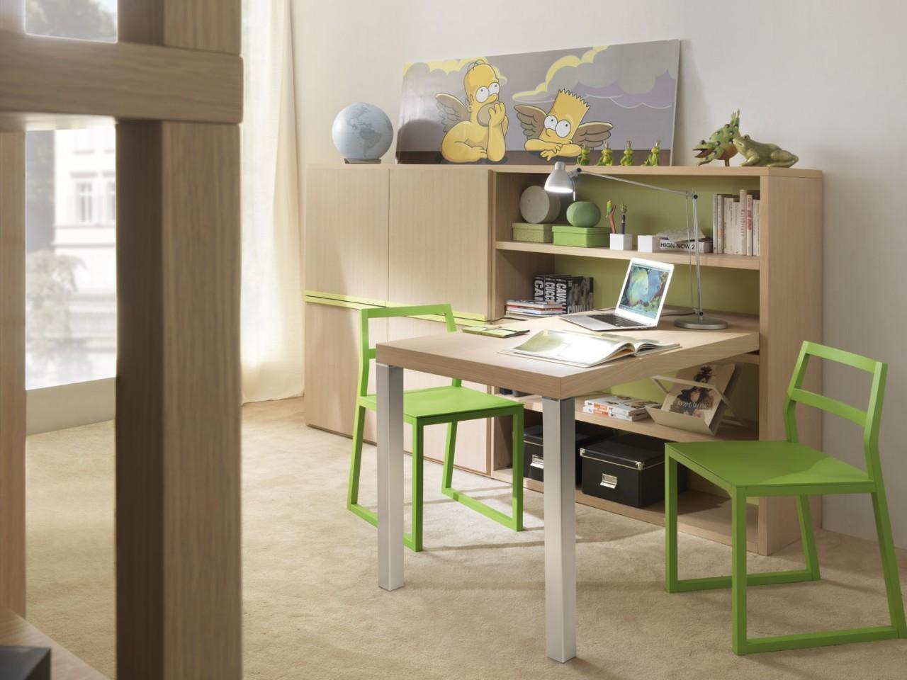 Scrivanie moderne per camerette scrivanie per camerette for Librerie economiche on line