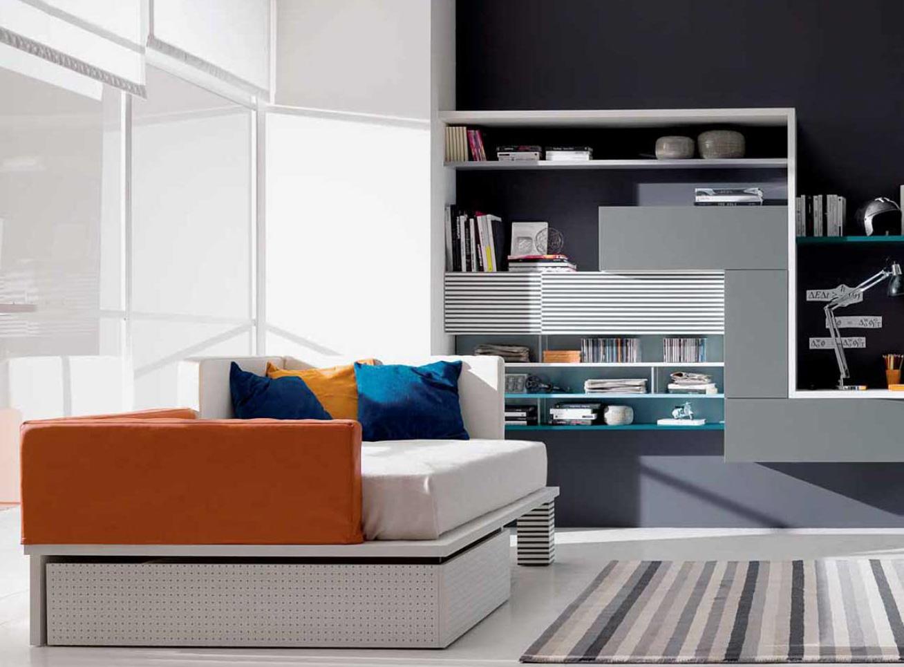 Letti piazza e mezza ragazzi spaziojunior for Ikea letto mezza piazza
