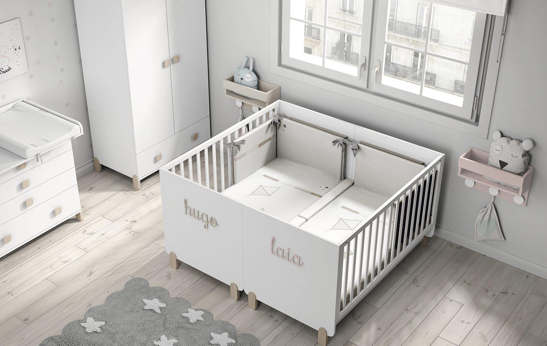 letto gemellare per neonati