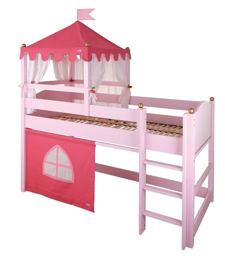 Castello rosa - Letto delle principesse ...