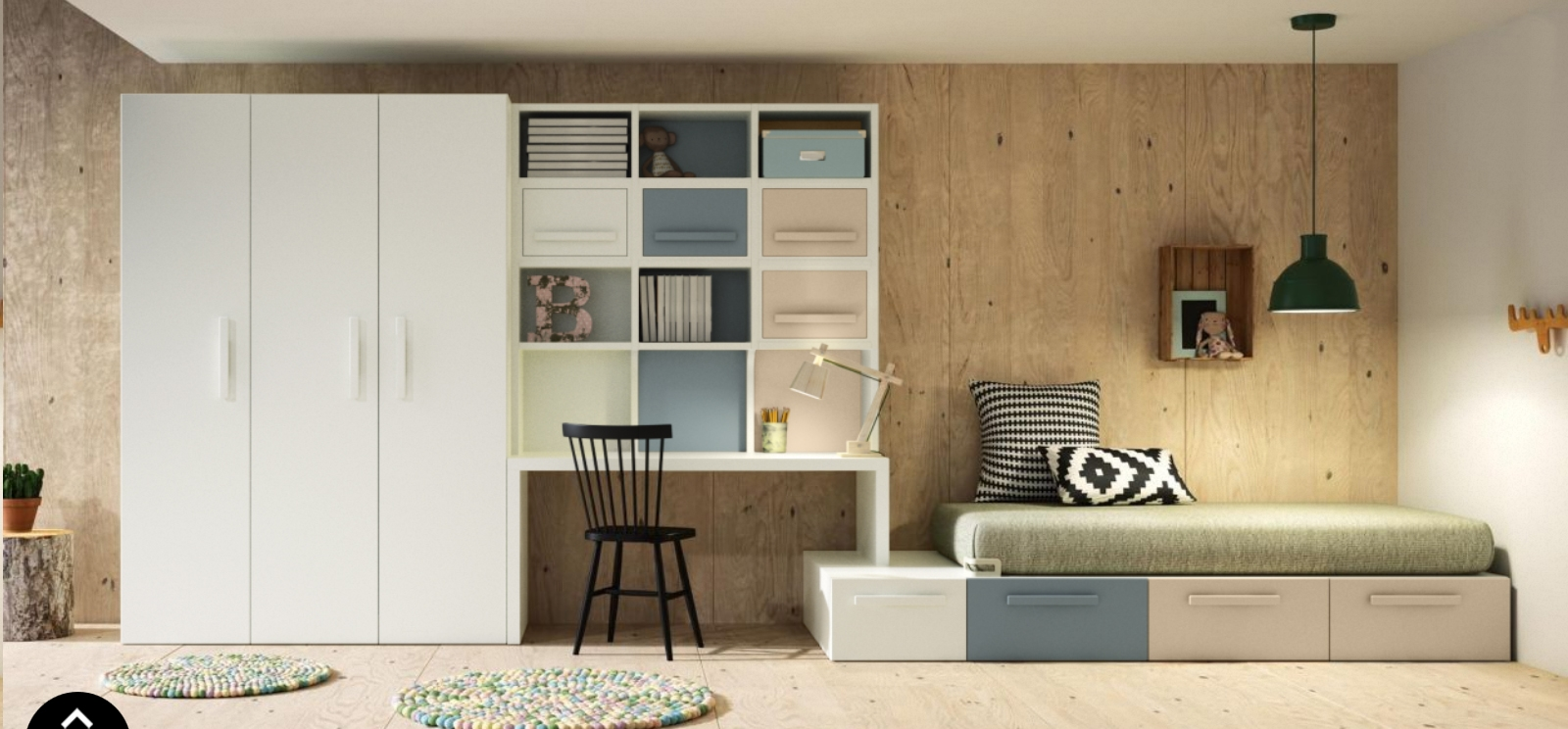 camere complete teenagers camere per ragazzi. Black Bedroom Furniture Sets. Home Design Ideas