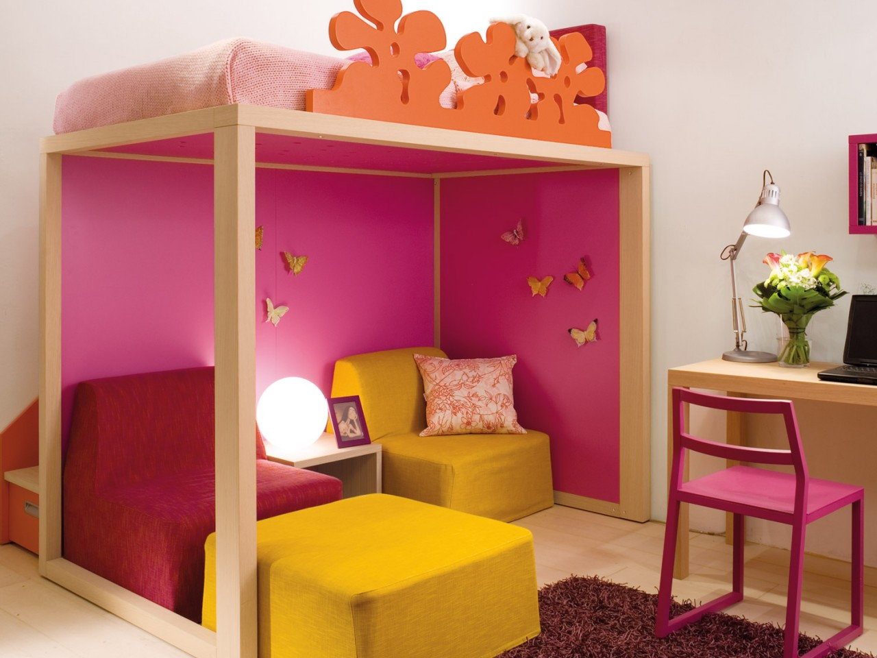 Camera letto rialzato : camera con letto rialzato. camera letto ...