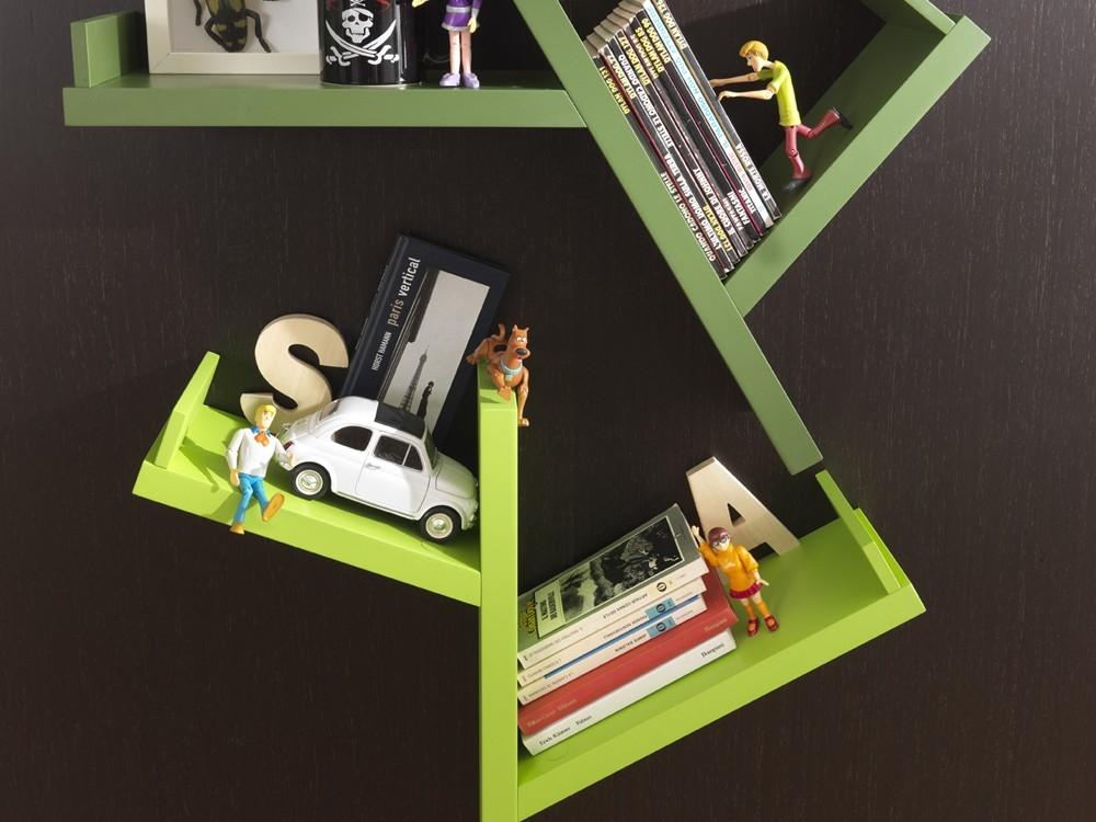 Scrivanie e librerie per camerette spaziojunior arredamenti - Mensole per camera bambini ...