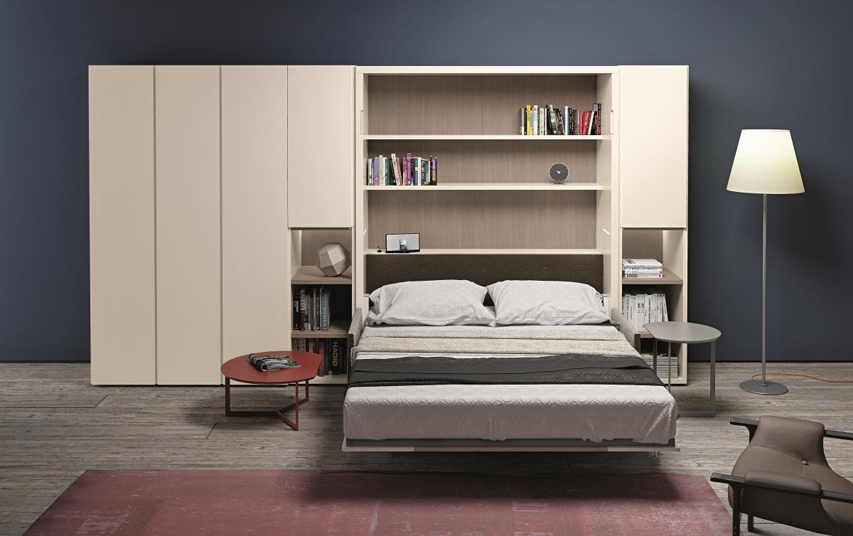 Soluzioni salvaspazio spaziojunior for Ikea letto ribaltabile