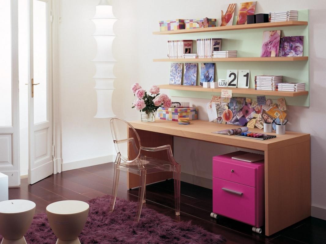 Scrivanie e librerie per camerette spaziojunior arredamenti - Faire un bureau pas cher ...