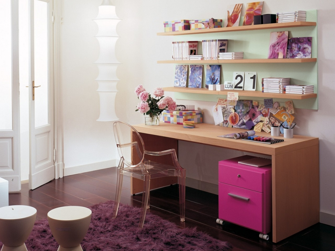 Scrivanie e librerie per camerette spaziojunior arredamenti - Faire bureau soi meme ...