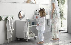 Mobile bagno Montessori basso