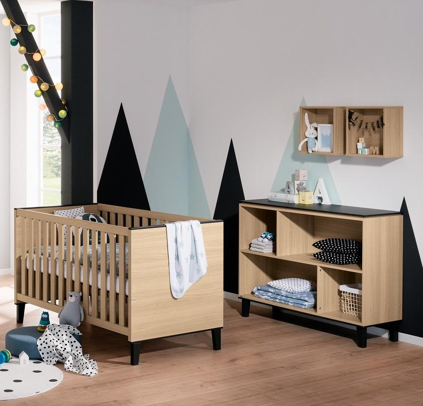 Letto per neonati in legno